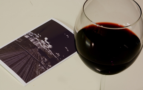 Wine and Unfinished Photo