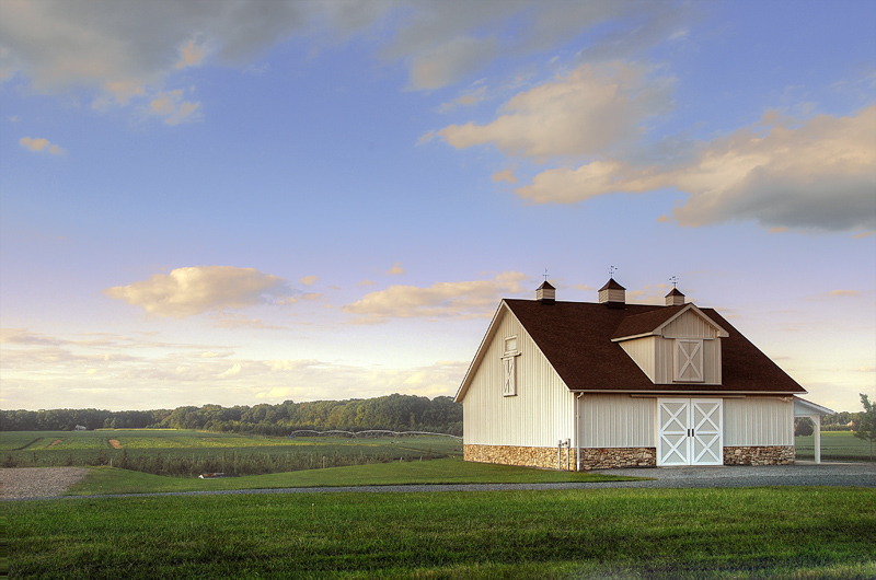 Barn In Early Evening #2